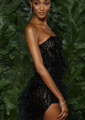 Jourdan Dunn - 2018 British Fashion Awards in London