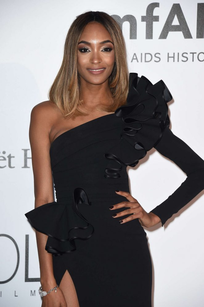 Jourdan Dunn - amfAR's 23rd Cinema Against AIDS Gala in Antibes