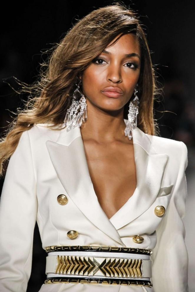 Jourdan Dunn - Balmain x H&M Collection Launch in NYC