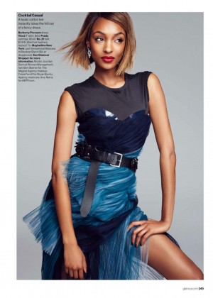 Jourdan Dunn - Glamour Magazine (March 2015)