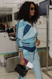 Jourdan Dunn - Leaving at Nice Airport in France
