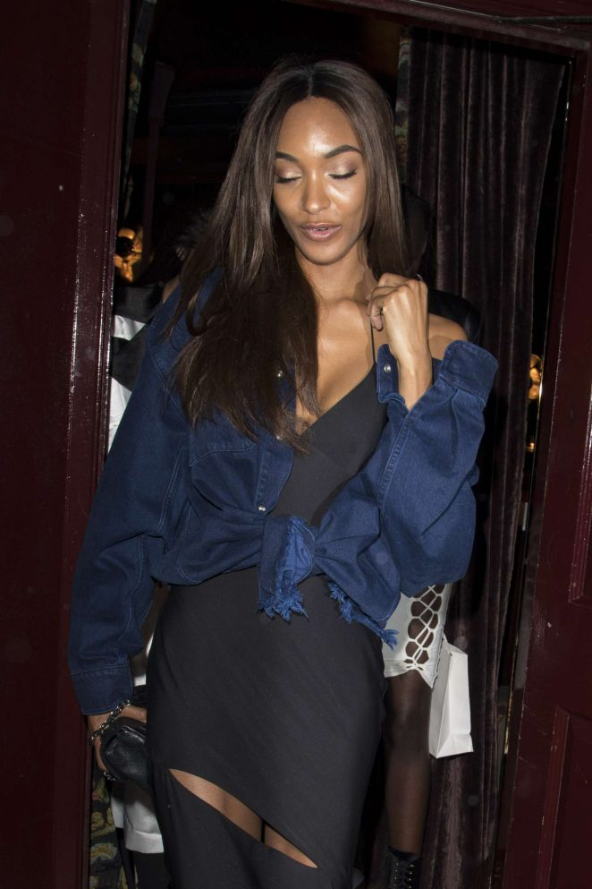 Jourdan Dunn - Leaving Can't Stop, Won't Stop A Bad Boy Story After Party in London