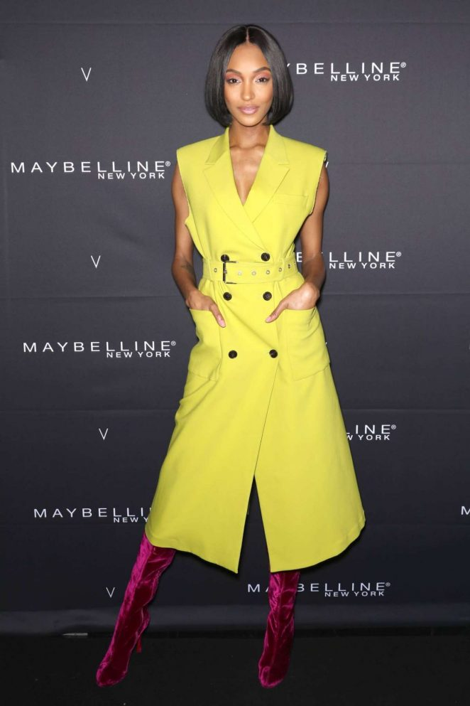 Jourdan Dunn - Maybelline New York x V Magazine Party 2018 in New York