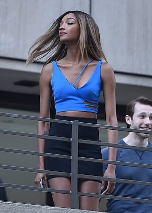 Jourdan Dunn - Maybelline Photoshoot in New York City