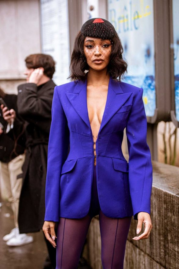 Jourdan Dunn - Mugler Fashion Show in Paris