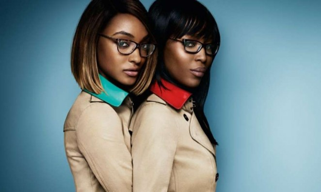 Jourdan Dunn & Naomi Campbell - Burberry S/S 2015 Eyewear Campaign