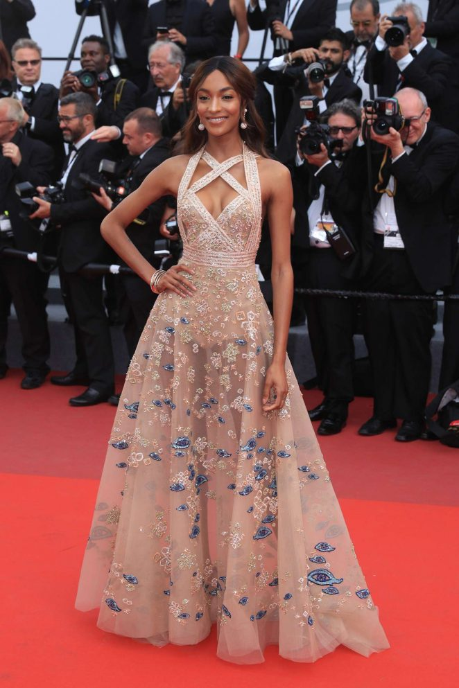 Jourdan Dunn - 'The Killing of a Sacred Deer' Premiere at 70th Cannes Film Festival