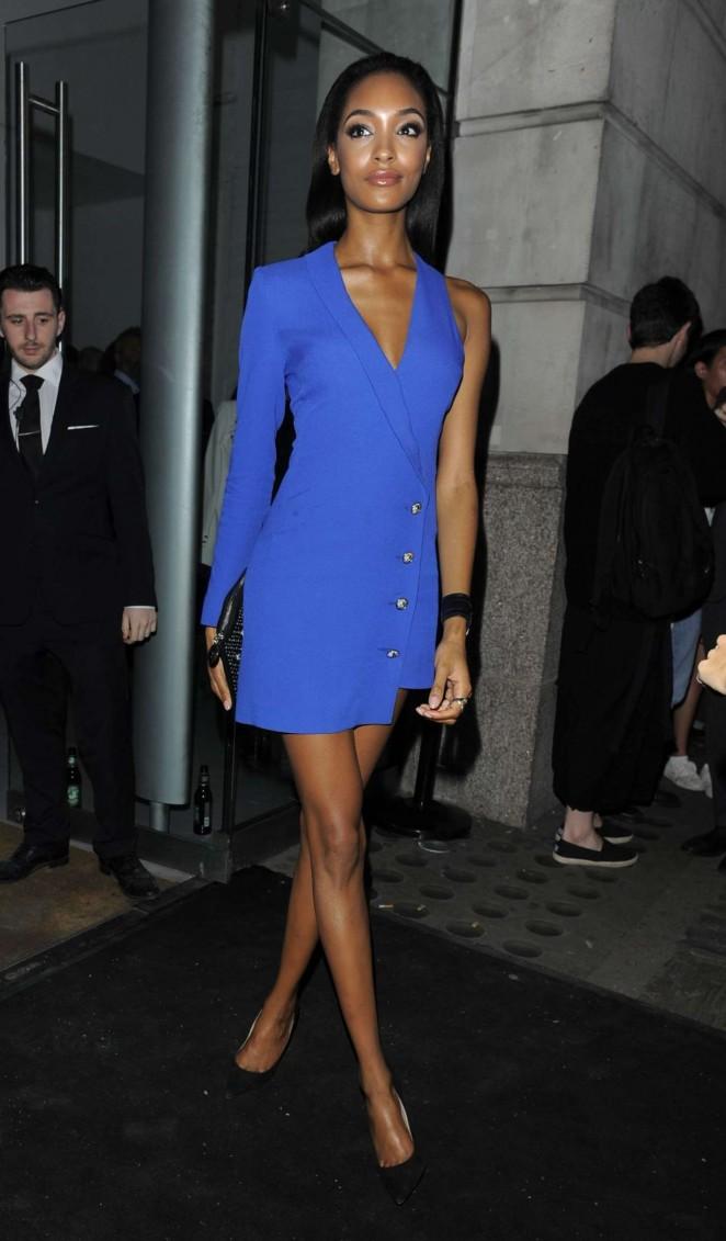 Jourdan Dunn - Versus By Versace Fashion Show in London