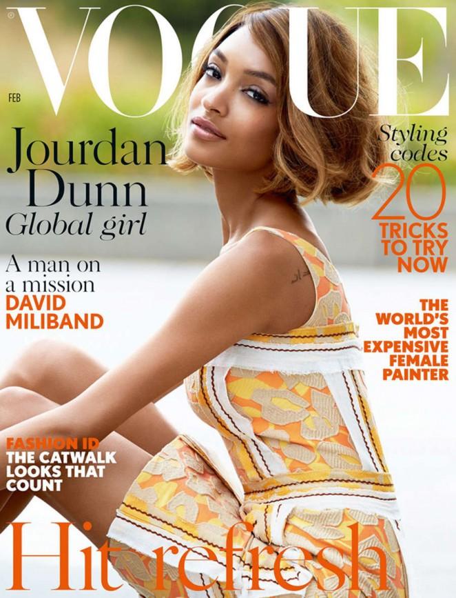 Jourdan Dunn – Vogue UK 2015 -02