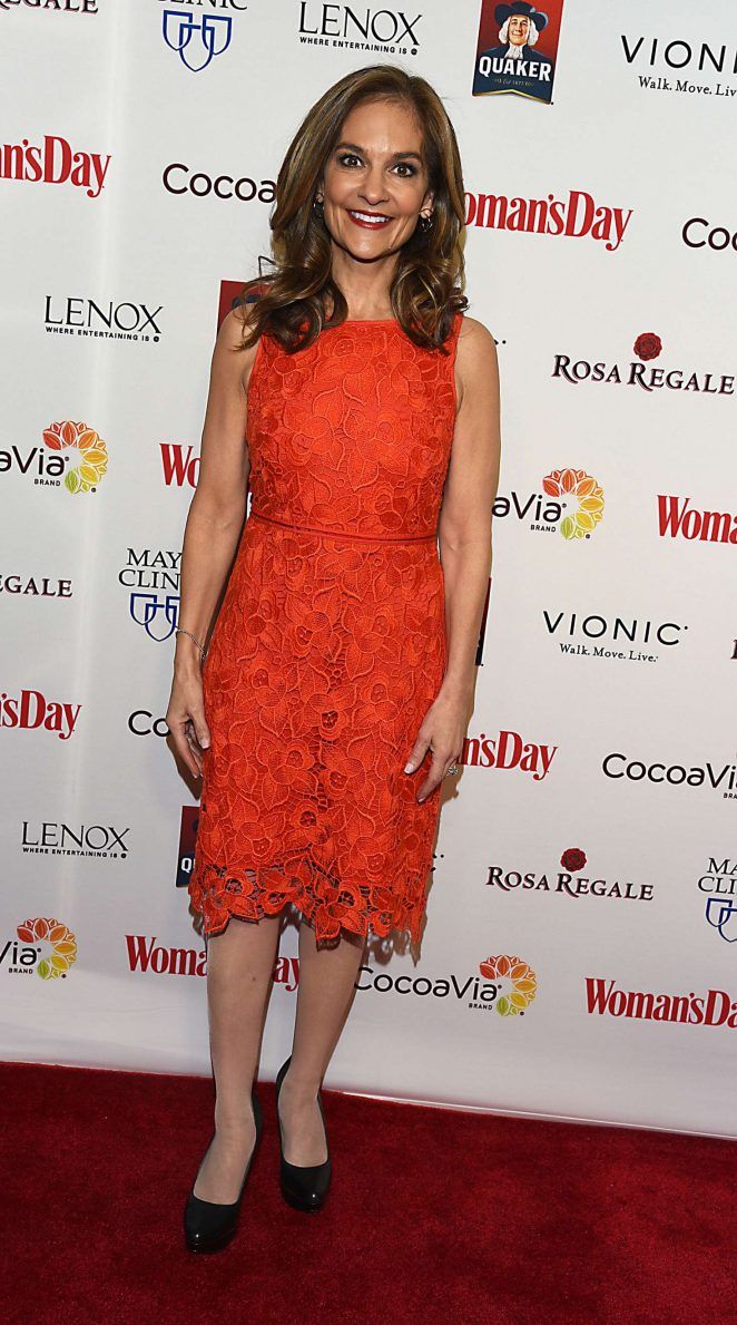 Joy Bauer - Woman's Day 14th Annual Red Dress Awards in New York