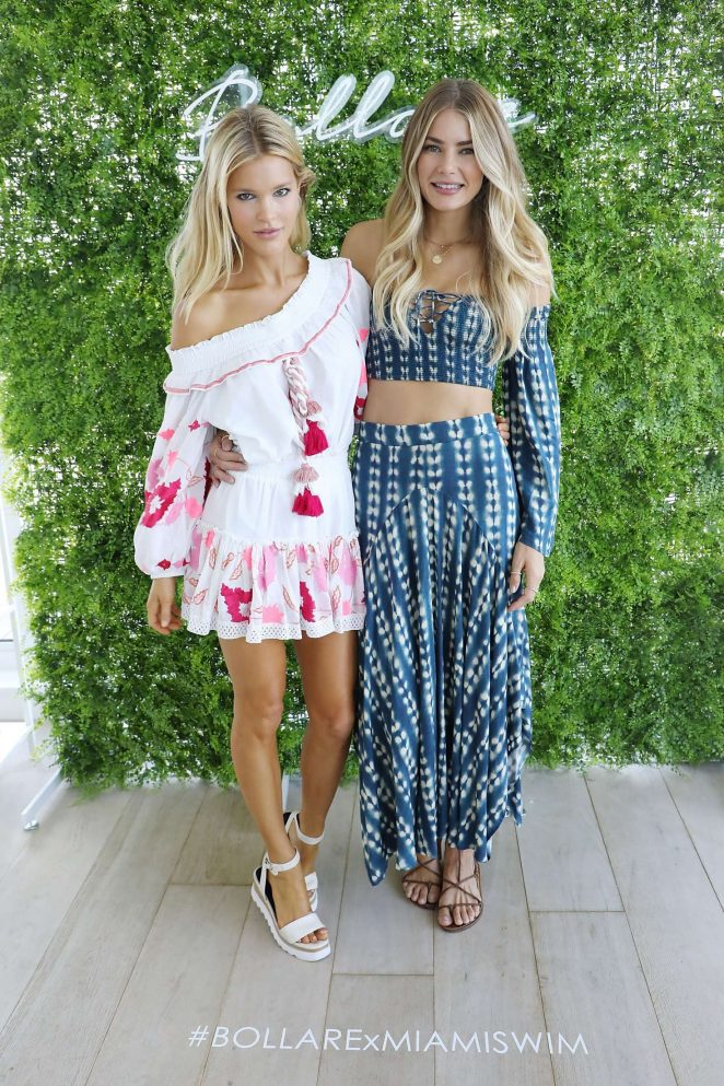 Joy Corrigan and Tori Praver - Tori Praver Swimwear Hosts Miami Swim Brunch in Miami
