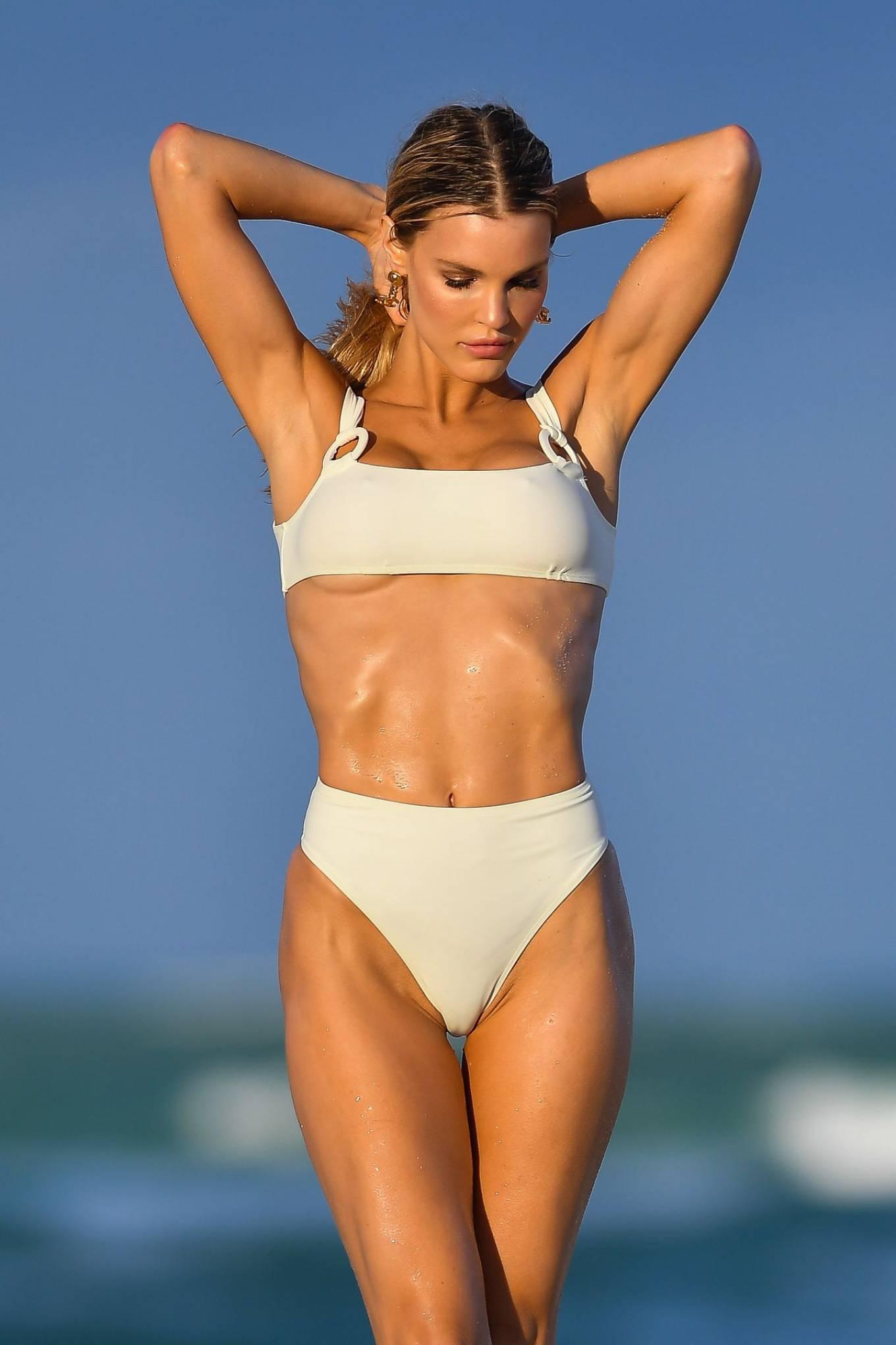 Joy Corrigan - Bikini Photoshoot in Miami Beach