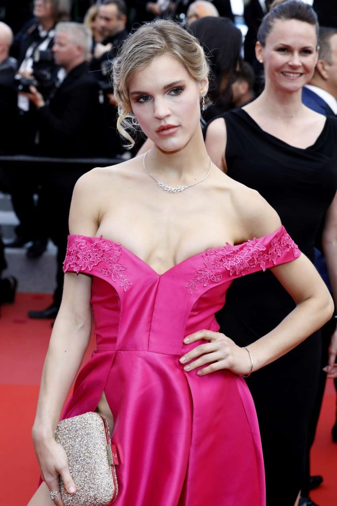 Joy Corrigan – 'BlacKkKlansman' Premiere at 2018 Cannes Film Festival