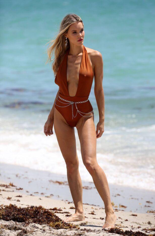 Joy Corrigan - In bikini doing a photo shoot in Miami Beach