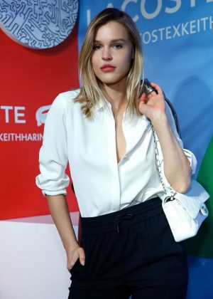 Joy Corrigan - Lacoste x Keith Haring Collaboration Launch in New York