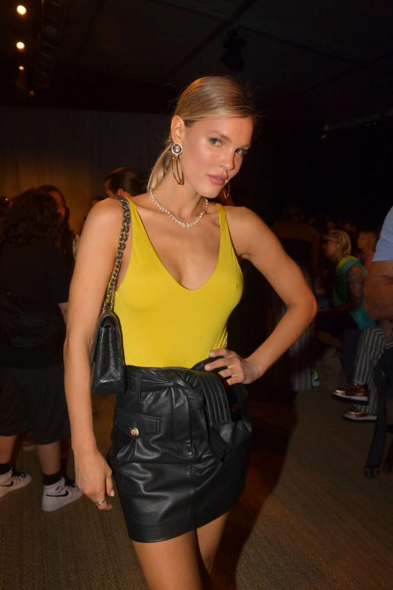 Joy Corrigan - Monday Swimwear Fashion Show at The Paraiso Tent in Miami Beach