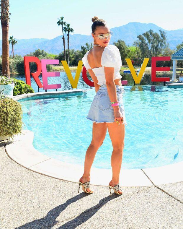 Joy Corrigan 2019 : Joy Corrigan: Revolve Party at Coachella -10