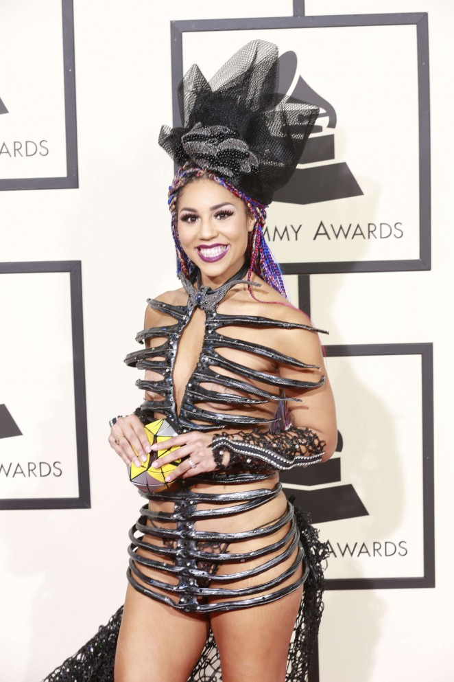 Joy Villa - 2016 GRAMMY Awards in Los Angeles