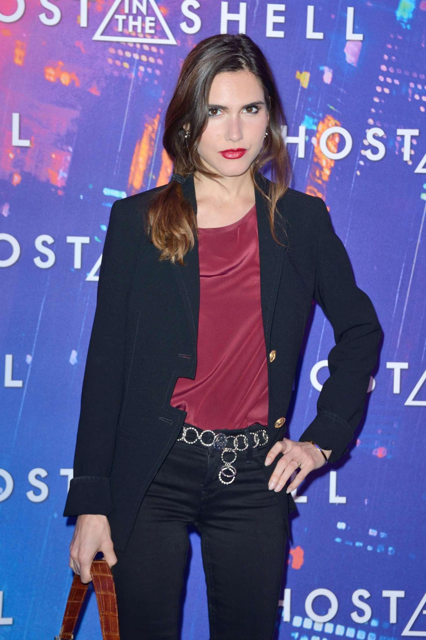 Joyce Jonathan – 'Ghost in the Shell' Premiere in Paris