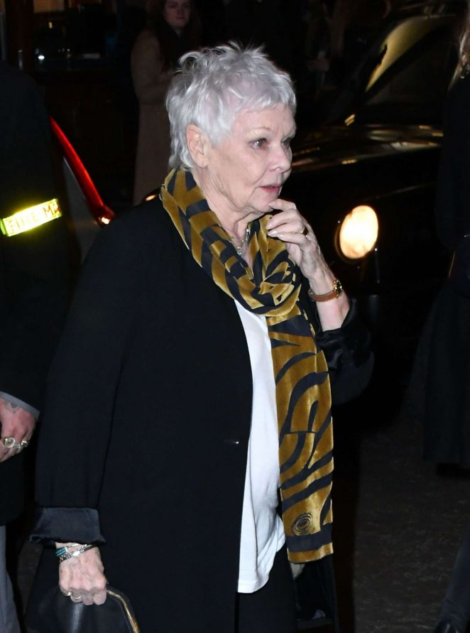 Judi Dench - 'Who's Afraid of Virginia Woolf?' Play in London