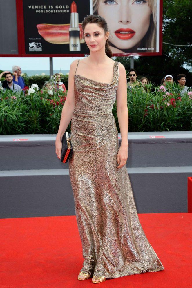 Judith Chemla: Une Vie Premiere at 73rd Venice Film Festival -04