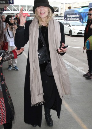 Judith Light - Catches a flight out of LAX in LA