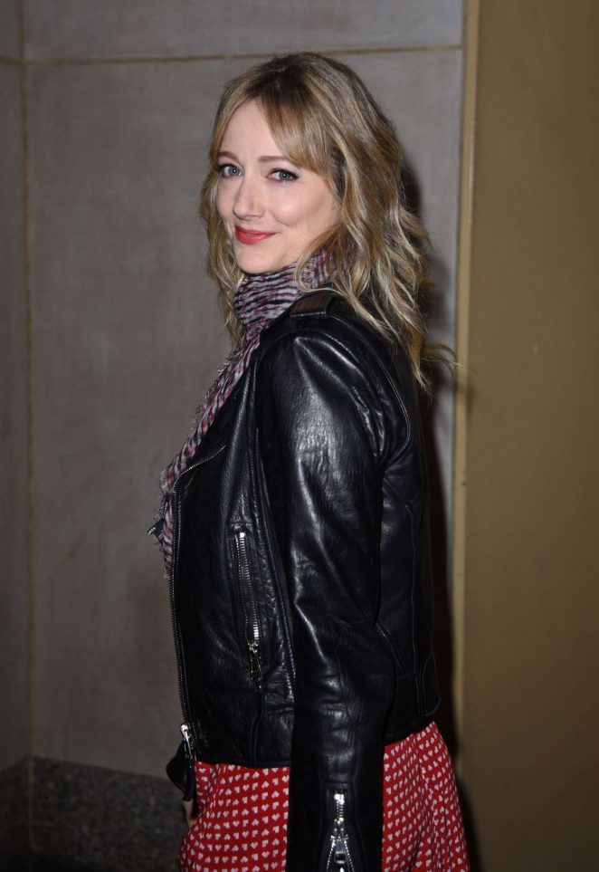 Judy Greer at Today Show studios in NewYork City
