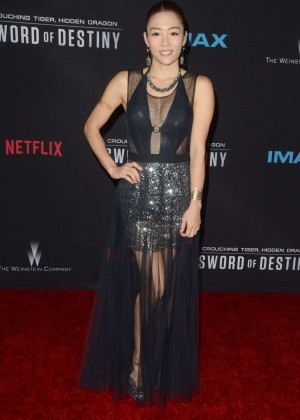 JuJu Chan - 'Crouching Tiger, Hidden Dragon: Sword of Destiny' Premiere in Los Angeles