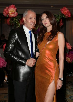 Julia Assouline - 7th edition of the Global Gift Gala Dinner in Paris