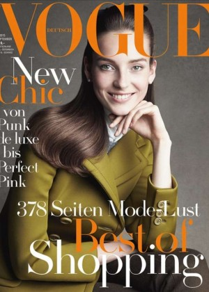 Julia Bergshoeff - Vogue Germany Cover (September 2015)
