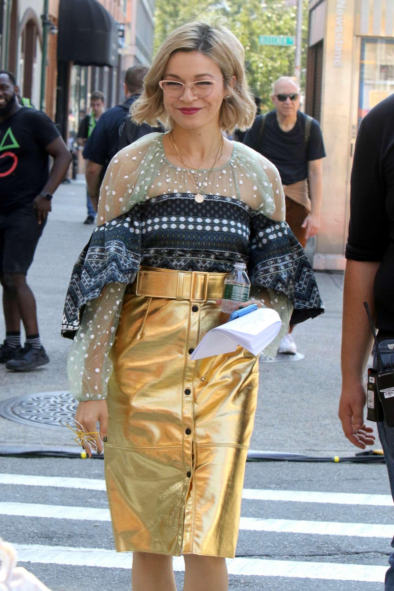 Julia Chan - Shooting 'Katy Keene' Series in New York