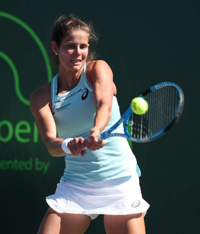 Julia Gorges - 2018 Miami Open in Key Biscayne