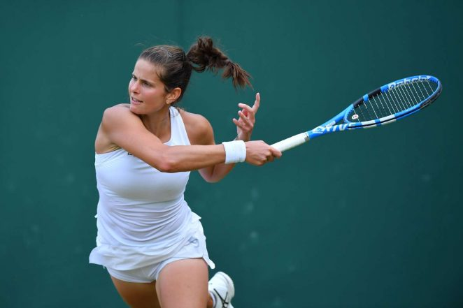 Julia Gorges - 2018 Wimbledon Tennis Championships in London Day 3