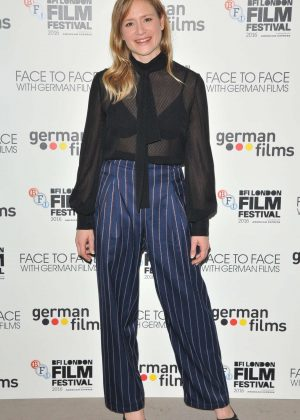 Julia Jentsch - 'Face To Face With German Films' Photocall at 60th BFI London Film Festival