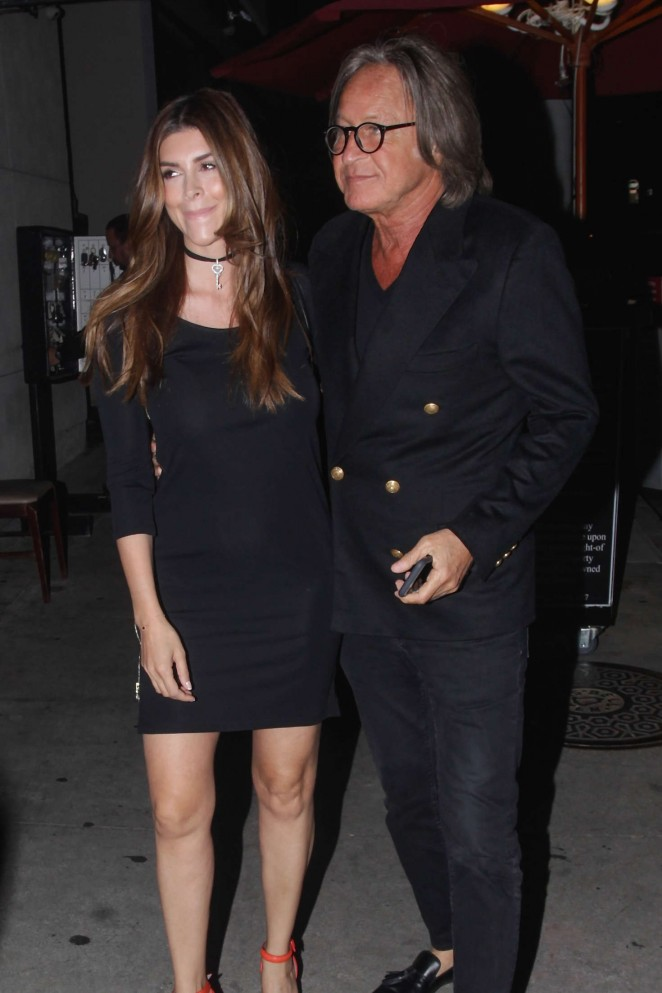 Julia Lescova at Craig's Restaurant in West Hollywood