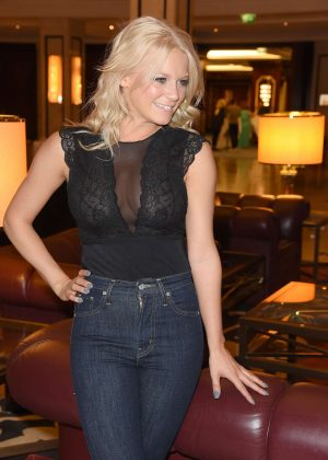 Julia Lindholm - ZDF Live TV Show 'Willkommen bei Carmen Nebel' After Party in Mitte