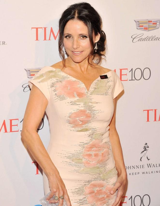 Julia Louis Dreyfus – 2016 Time 100 Gala in New York