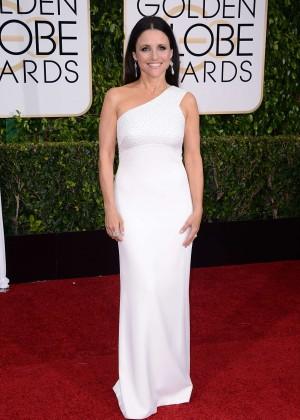 Julia Louis Dreyfus - 2015 Golden Globe Awards in Beverly Hills
