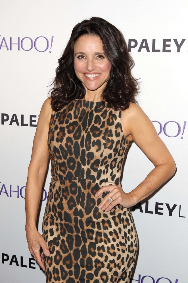 Julia Louis Dreyfus - Paley Center Hosts an Evening With 'VEEP' in NYC