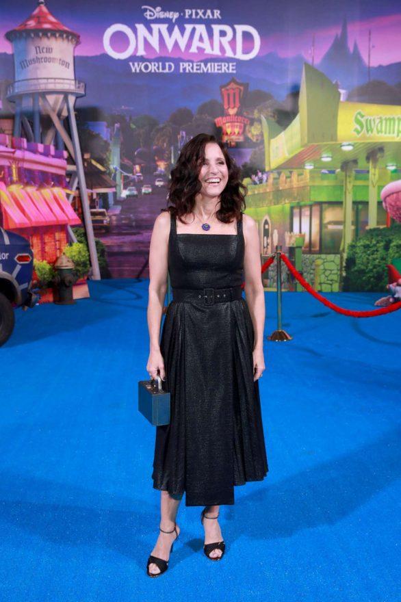 Julia Louis-Dreyfus - Posing at 'Onward' premiere in Hollywood
