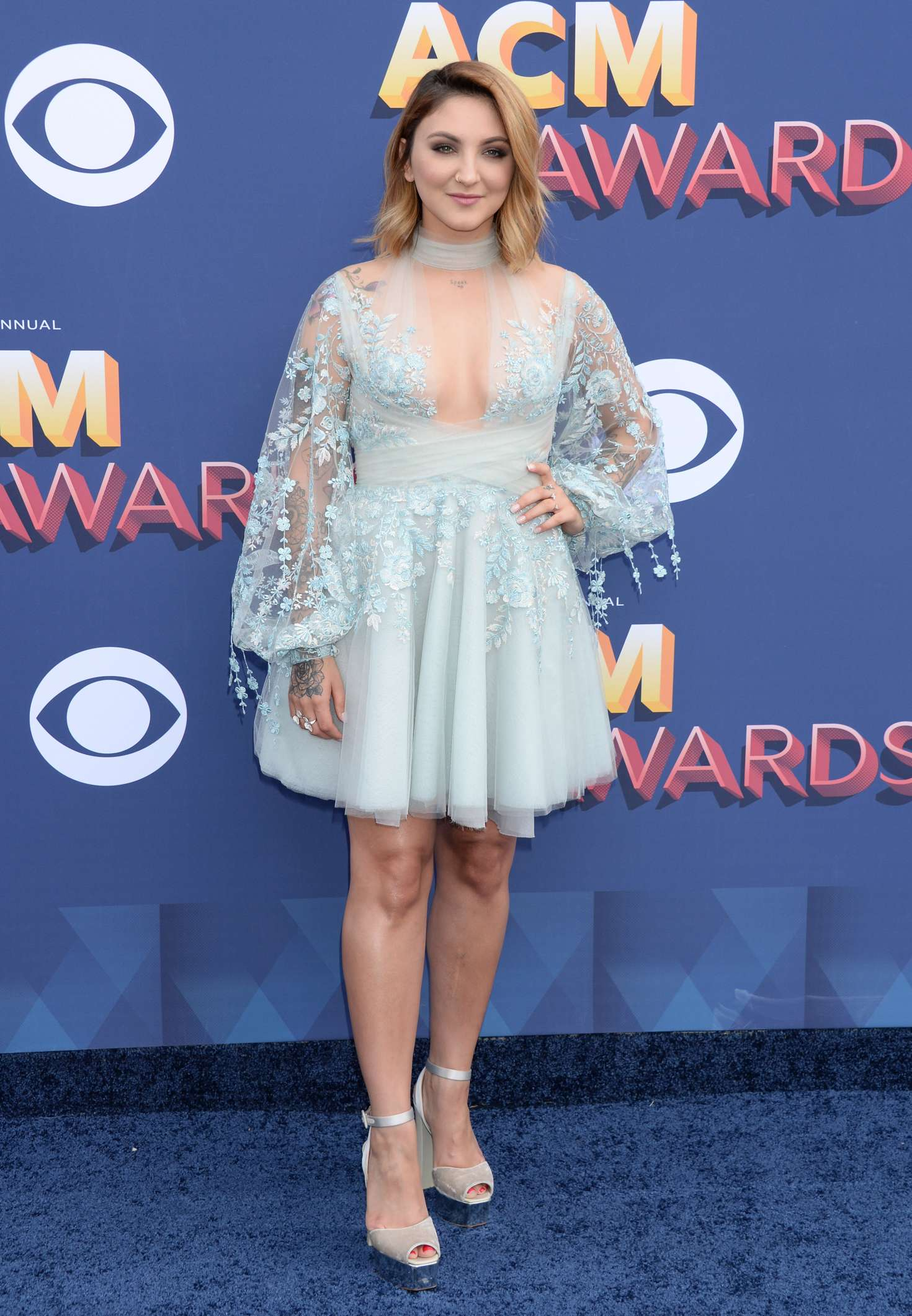 Julia Michaels 2018 : Julia Michaels: 2018 Academy of Country Music Awards -13