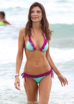 Julia Pereira - Bikini Candids in Miami