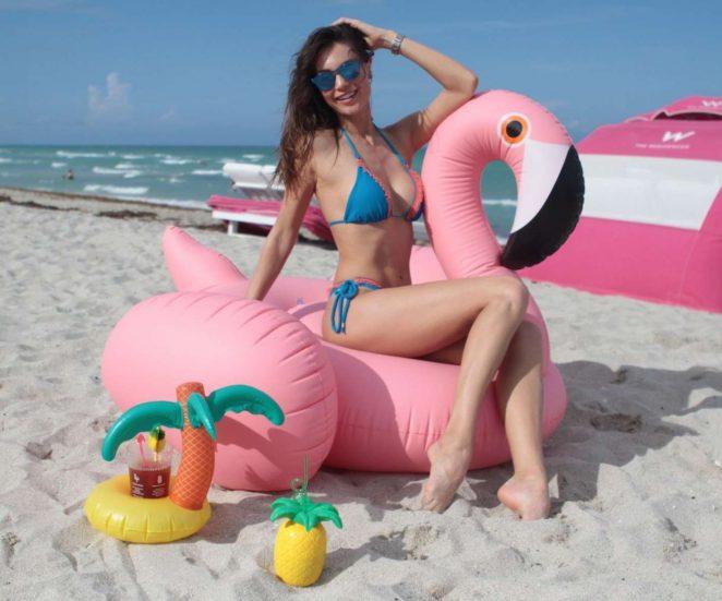 Julia Pereira Bikini Photoshoot on Miami Beach