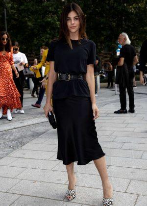 Julia Restoin Roitfeld - Arrives at the Alberta Ferretti Fashion Show in Milan
