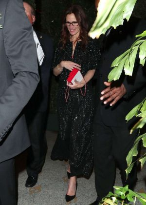 Julia Roberts at Gwyneth Paltrow's Black Tie Event in LA