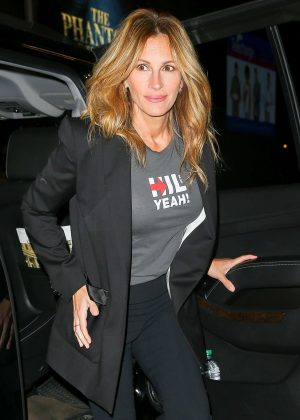 Julia Roberts - Attends Hillary Victory Fund - Stronger Together Concert in New York