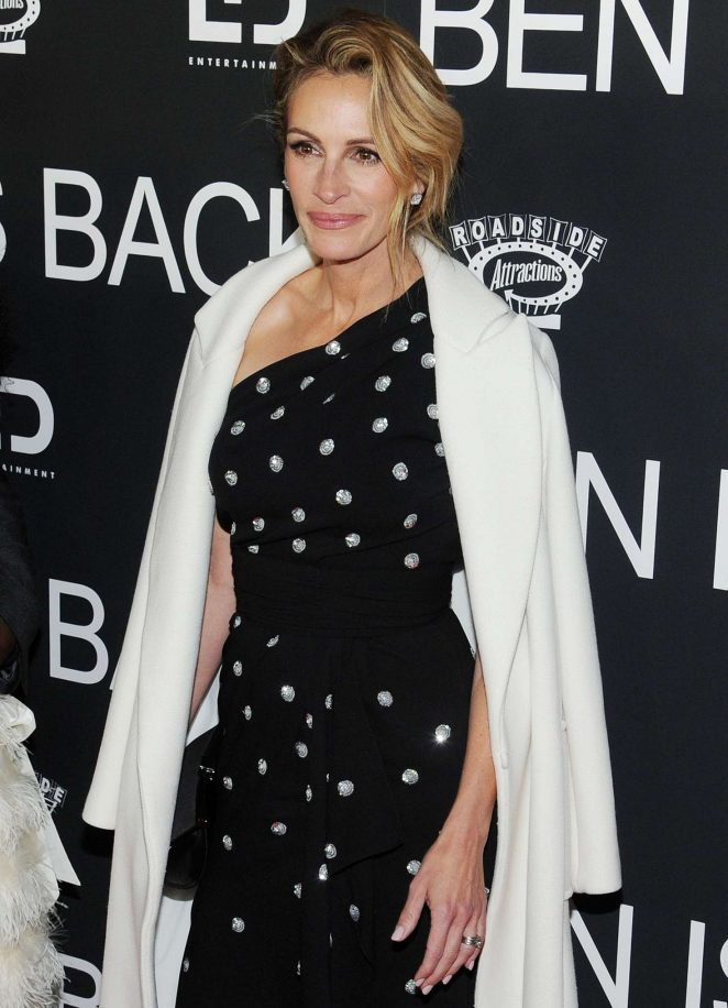 Julia Roberts – 'Ben Is Back' Premiere in New York