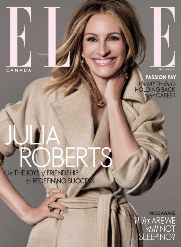 Julia Roberts - Elle Canada Magazine (February 2020)