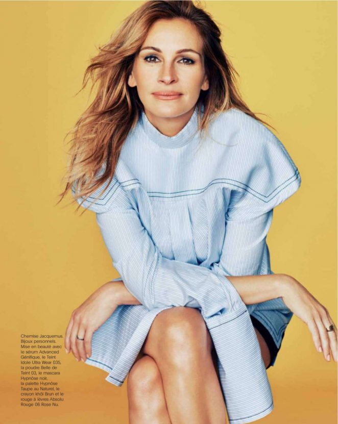 Julia Roberts for Marie Claire France (May 2017)