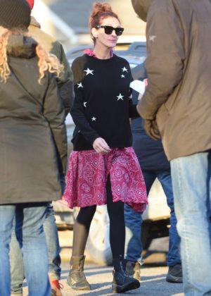 Julia Roberts - On set filming 'Ben is Back' in New York